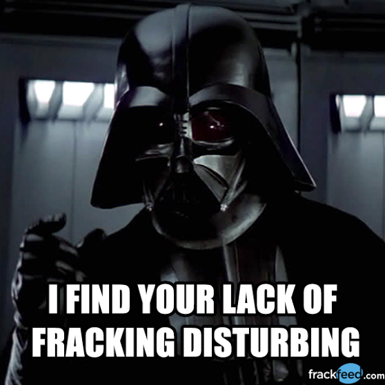 FrackFeed Fracking DarthV Starwars