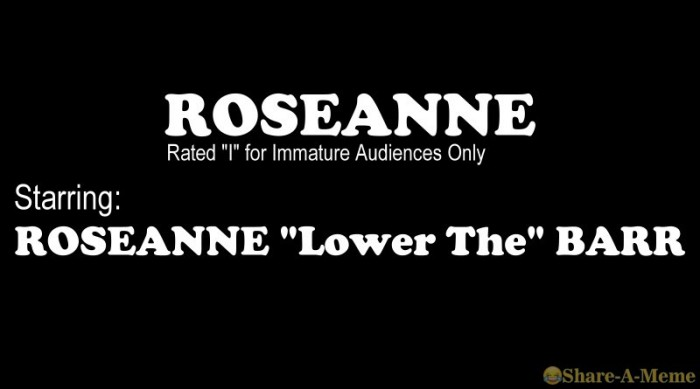 Roseanne Lower The Barr