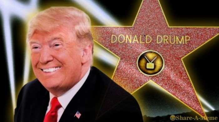 Hollywood Just Misspelled Donald Trump