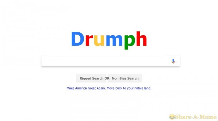 Google Changes Name to Drumpf