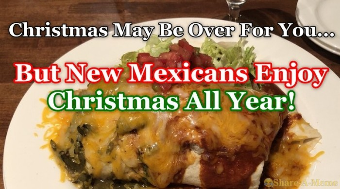 New Mexicans Enjoy Christmas All Year