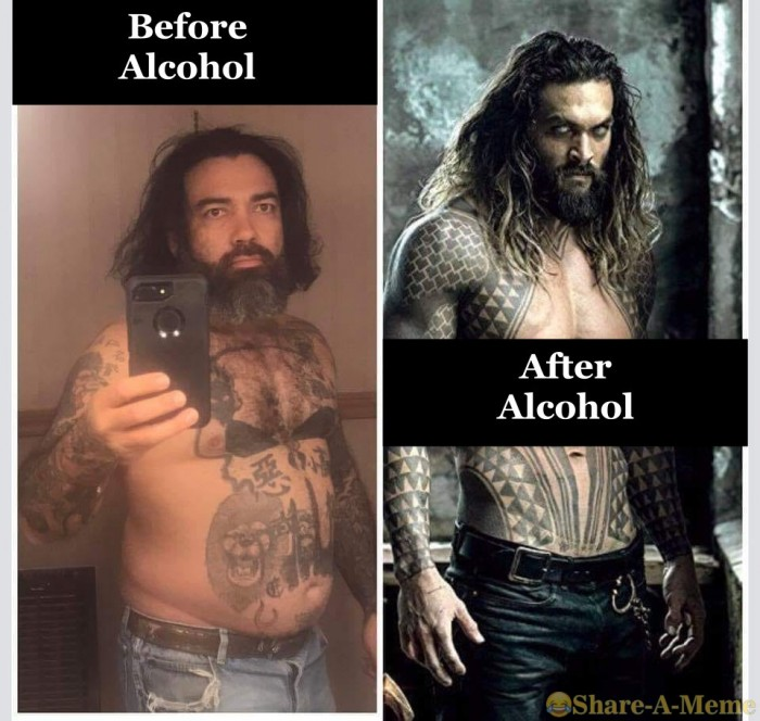 Effects of Before Alcohol and After Alcohol