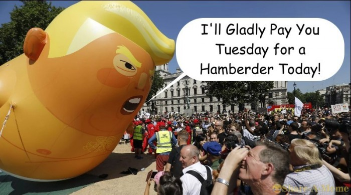 I Will Gladly Pay You Tuesday For A Hamberder Today