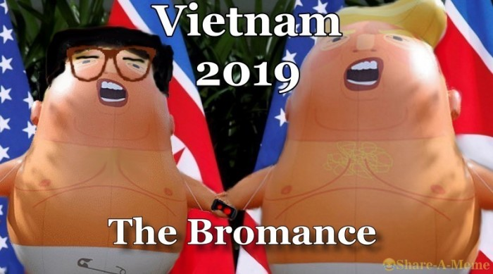 Trump Kim Summit Vietnam 2019 The Bromance Continues