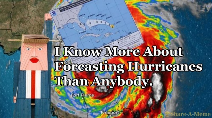 I Know More About Forcasting Hurricanes Than Anybody