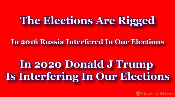 The Elections Are Rigged