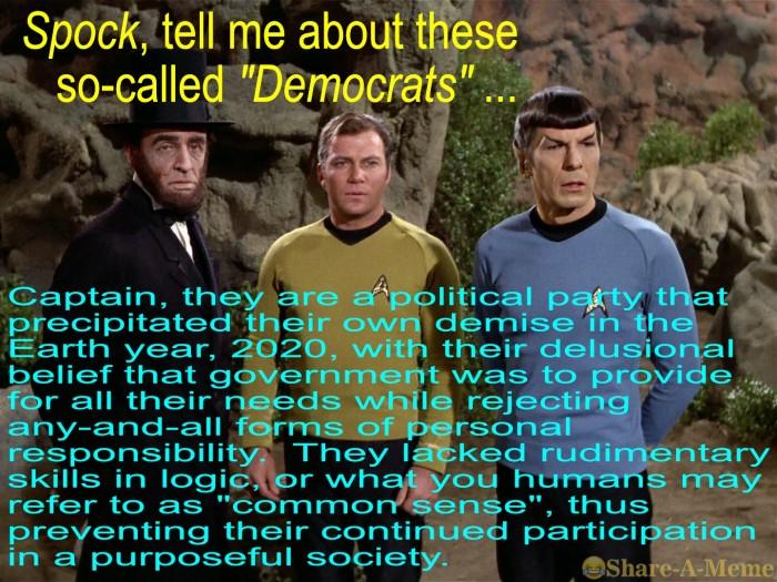 A Spock retrospective ...
